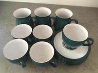 Denby mugs and cups