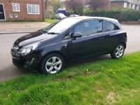 2012 Vauxhall corsa 1.2 SXI Black for sale