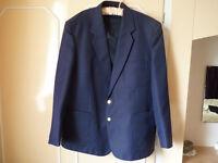 Mens navy formal blazer