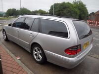 (2001)MERCEDES BENZ E CLASS ESTATE (7 SEATER)2.1.CC DIESEL ..AUTO.....