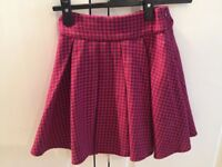 Beautiful New colourful lined skirts