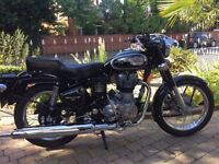 2014 ROYAL ENFIELD 500 CLASSIC SPOTLESS BIKE MUST BE SEEN RIDES LINE NEW £2650 FINANCE AVAILABLE