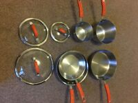 Rachel Ray Stainless Steel 8-piece Set
