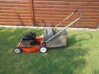 Toro Recycler Petrol Lawn Mower, 48cm cut. Briggs and Stratton Engine