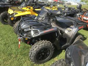 2017 Can-Am Outlander MAX XT™ 570 - Pure Magnesium London Ontario image 2