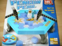 Penguin peril hammer game