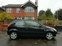 2005, Ford Fiesta. Zetek. 1.2 Petrol. Black. full 12 Months MOT. very low mileage!!