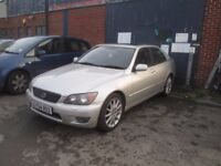 **********LEXUS IS 200 2004 GOOD CONDITION LOW MILEAGE********