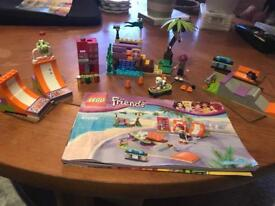 Lego friends heart lake skate park