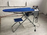 Commercial steam iron vacuum table industrial ironing station