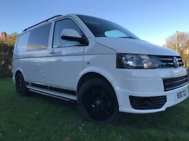 Vw camper van transport t5 1.9tdi 1 owner from new (brand new conversion)