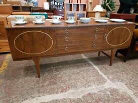 Retro sideboard with three drawers