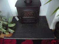 Gazco/Stockton 5 Coal effect stove LPG converted