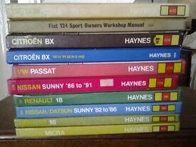 HAYNES MANUALS