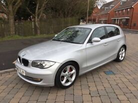 2007 BMW 1Series 120 6 speed manual hip clear