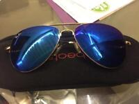 Real Ray-ban sunglasses blue tint month old