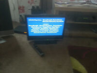 """for sale sony 20"""" lcd hd widescreen tv with freeview / no remote / £20"""