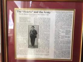 Hearts FC Prints