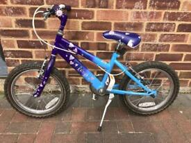 16 inch Raleigh girl bike