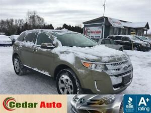 2012 Ford Edge SEL - Navigation Leather - Moonroof