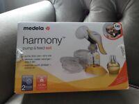 Madela harmony pump and feed set