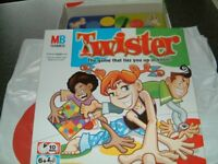MB Games Twister, this is complete in the box in very good condition. The game that ties you up .