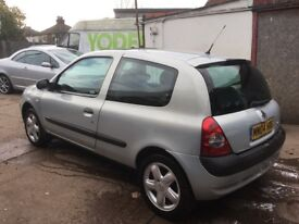 2004 RENAULT CLIO EXTREME 1.1L VERY LOW MILEAGE 59000