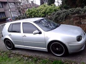Vw golf gti 1.8 20v turbo Remapped loads of mods good car LOOK !!