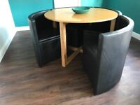 NEXT Space Saver (Hideaway)Compact Table and Chairs - £120