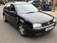 2002 vw golf 1.6 auto SE FULLY LOADED (not focus astra corsa polo a3 seat jazz civic)