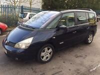 2005 RENAULT GRAND ESPACE PRIVLEGE DCI AUTO BLUE 7 SEATER