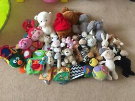 Baby/Toddler cuddly/soft toy bundle
