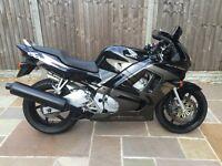 Honda Cbr600f, 1997, Black, Only 5050 miles, Totally standard, Full mot, Great condition, £1700ono