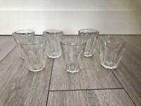 Glasses x 6