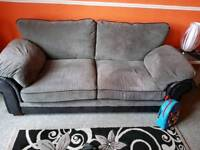 3 and 2 seater sofas good condition