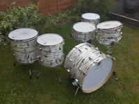 Sakae Trilogy Drum Kit with Snare Drums