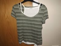 Ladies 2 in 1 T-Shirt Size 12