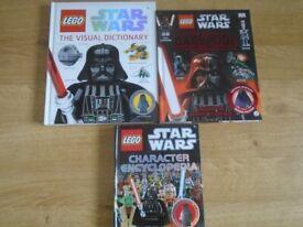 3 x Starwars books