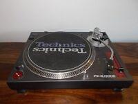 SONY PS-DJ9000 DIRECT DRIVE TURNTABLE/TECHNICS 1210/1210 ALTERNATIVE