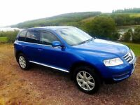 vw touareg 2.5 tdi auto sport 4x4 jeep as new may px or swap ???