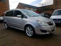 2008 Vauxhall Zafira 1.9 CDTI Design - 7 Seater - 3 Months Warranty