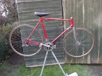 Vintage Raleigh Racing Bike Classic Retro Race Cycle For Restoration