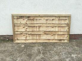 Heavy Duty High Quality Wayneylap Wooden Garden Fence Panels 🌳