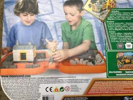 Moon Sand / Moon Dough various playsets £10 for the lot.