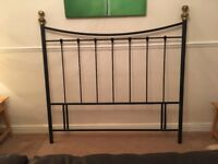 Metal Headboard for Double Bed 4ft 6in