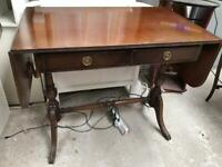 Drop leaf side table/desk FREE DELIVERY PLYMOUTH AREA
