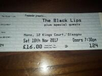 Black Lips gig tix Mono tonight! 2 tickets for sale, 30 quid or nearest offer