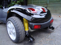 KYMCO MIDI XLS MOBILITY SCOOTER/DISABILITY SCOOTER 8 MPH.SOLID TYRES.CAN DELIVER