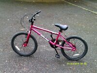 B . M. X . Unisex Bike. Suit 8 to 11 Year Old