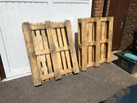 2 x wooden pallets **FREE**